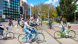Leenfietsen voor scholieren in Amsterdam