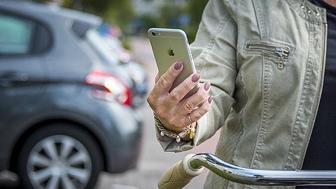 Welke apparaten mag je nog vasthouden op de fiets?}