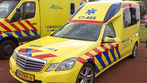Patiënt tevreden over zorg bij ambulancerit