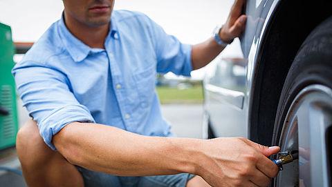 Veel automobilisten op vakantie met te lage bandenspanning