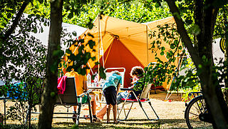 Stijging aantal campinggasten