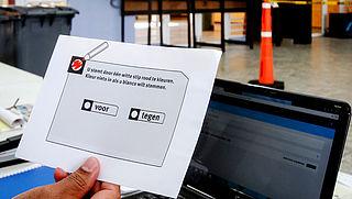 Ruim 49 procent van de Nederlanders heeft tegen de sleepwet gestemd