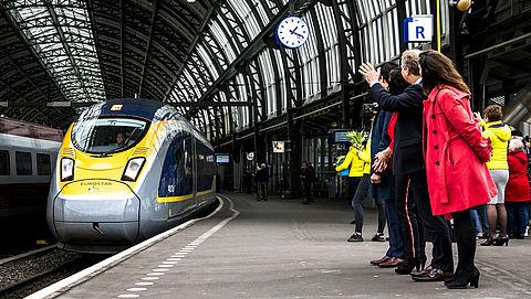 Rechtstreekse trein van Amsterdam naar Londen rijdt vanaf eind april