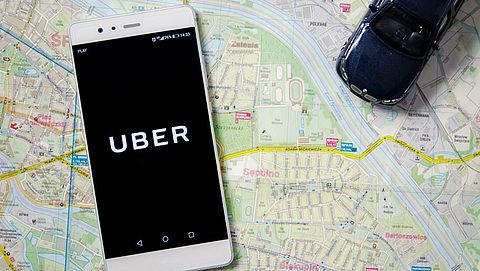 Uber waarschuwt gebruikers bij uitstap op fietspad
