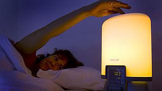 Kan een lichtwekker helpen bij het opstaan?