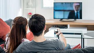 Daling aantal tv-aansluitingen zet door