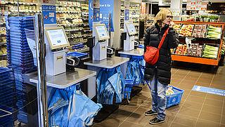 Pinstoring bij AH supermarkten door het land