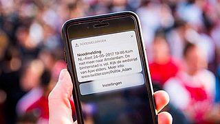 NL-Alert zes keer verstuurd, politie zegt sorry
