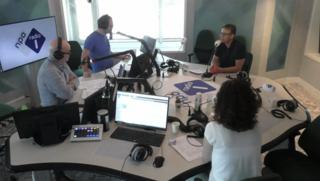 Radio-uitzending 21-04-2018