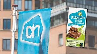 Albert Heijn roept biologische melkchocolade terug