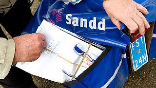 Postbezorger Sandd komt met een eigen postzegel