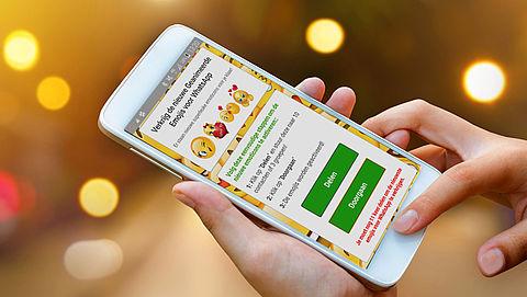 Trap niet in WhatsApp-'kettingbericht' dat nieuwe emoji belooft}