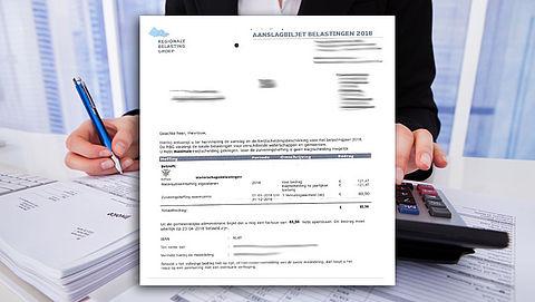 Valse belastingaanslag in omloop in Den Haag}