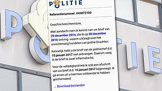 Kwaadaardige software in mails van de 'politie'