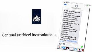 Nieuwe truc: nepboete CJIB via sms
