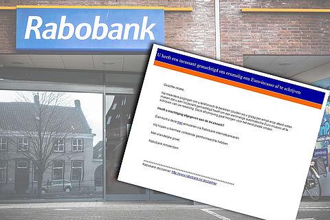 Rabobank waarschuwt voor valse e-mails over incasso of afschrijving}