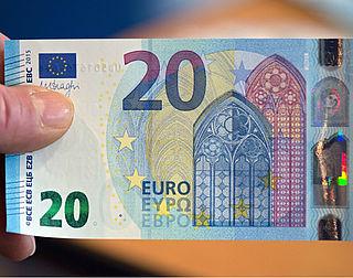 'Nieuwe biljet van 20 euro onvervalsbaar'
