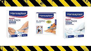Terugroepactie: 'Potentieel risico op microbiële verontreiniging Hansaplast-pleisters'