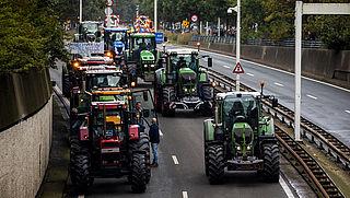 Vliegverkeer Schiphol mogelijk gehinderd door actievoering boeren