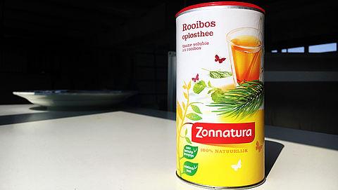 Zonnatura Oplosthee is gewoon suikerwater door enorme berg suiker