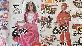 'Laat kind voor jongens- of meisjesspeelgoed kiezen, niet de fabrikant'