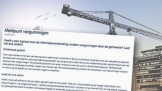 Ombudsman opent meldpunt vergunningen bouwplannen