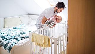 11 procent vaders maakte in 2017 gebruik van ouderschapsverlof