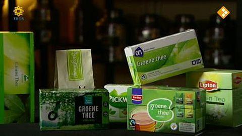 Groene-theetest