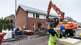 Grootste stijging aantal nieuwbouwwoningen sinds 2009
