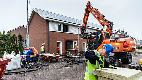 Grootste stijging aantal nieuwbouwwoningen sinds 2009}
