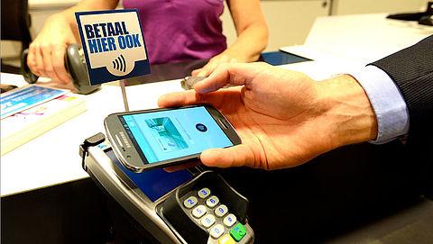 Betalen met smartphone steeds populairder