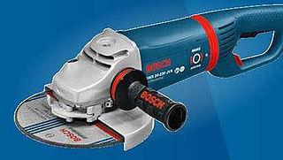 Veiligheidswaarschuwing: slijpmachine Bosch