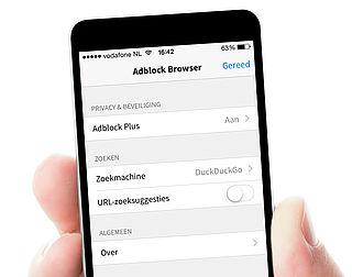 Nieuwe app blokkeert advertenties op smartphone