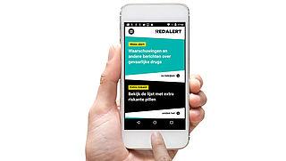 App informeert stappers over gevaarlijke pillen