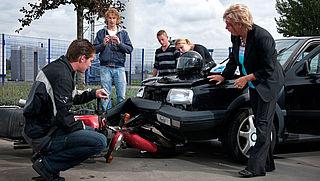 Filmen bij ongeval door 90% Nederlanders onacceptabel gevonden