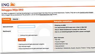 Klanten ING ondervinden problemen met online bankieren