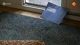De blauwe envelop