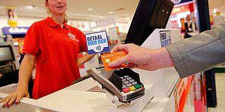 Sterke groei in contactloze betalingen