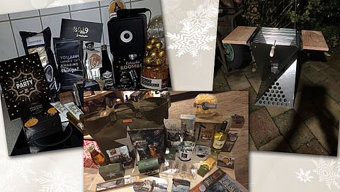 50% wil verrassingspakket als kerstpakket