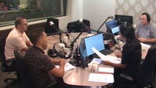 Radio-uitzending 12-08-2017