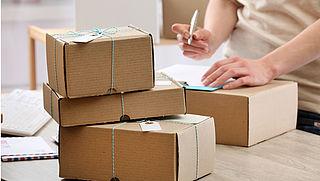 Hoge boete voor gevaarlijke producten in postpakket