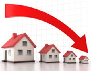 Huizenprijzen weer ruim 3 procent lager