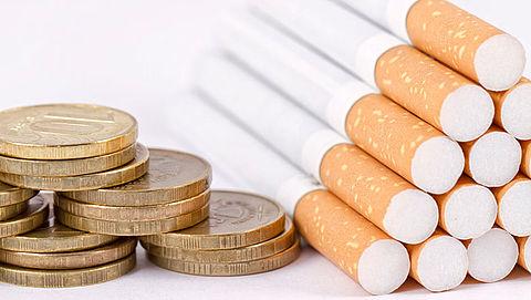 Prijs voor pakje sigaretten stijgt met 17 cent}