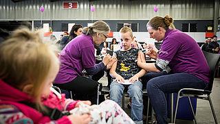 Europees Parlement: 'zorgwekkende afname' vaccinatiegraad