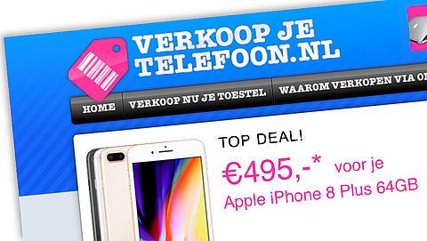 Verkoopjetelefoon.nl - reactie Verkoopjetelefoon.nl