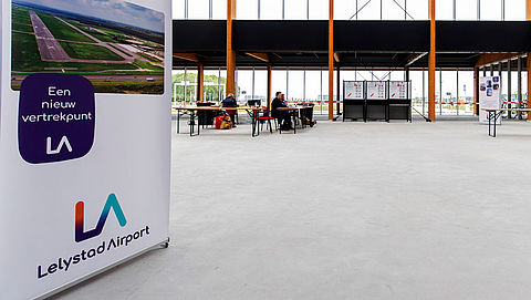 Luchthaven Lelystad openen in 2020 lastig vanwege stikstofbeleid}