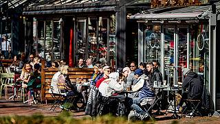 Daling aantal cafés in Nederland
