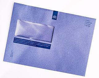 Onderzoek naar verdwijnen blauwe envelop