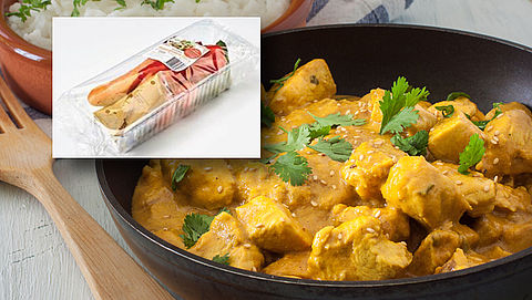 Currymaaltijden Emté en PLUS teruggeroepen