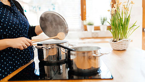 Steeds meer mensen koken op elektriciteit in plaats van gas}